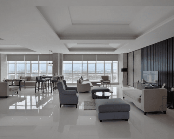 Residence Lounge & Library